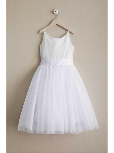 Girls Ballerina Dress  whi alt1