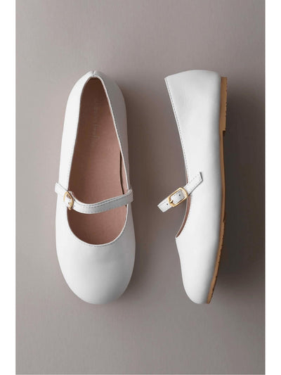 Girls Ballet Mary Janes  whi 1