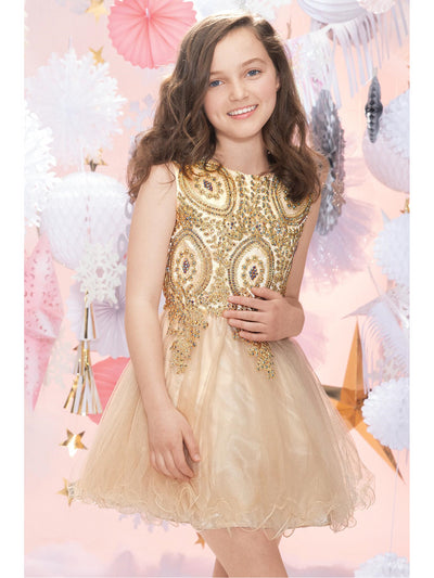 Girls Baroque Beauty Beaded Dress