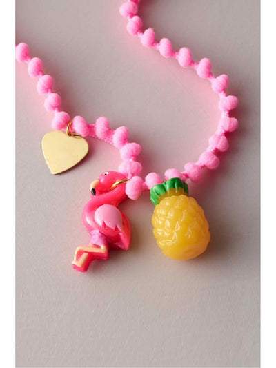 Girls Beach Charms Necklace