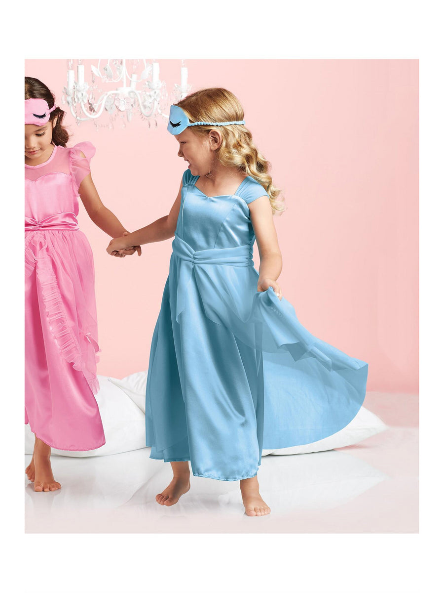Girls Blue Princess Nightgown