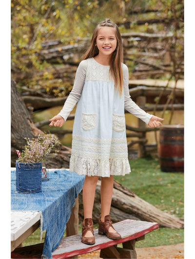 Girls Blue Skies Dress