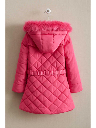 Girls Bow Puffer Coat  hpi alt2