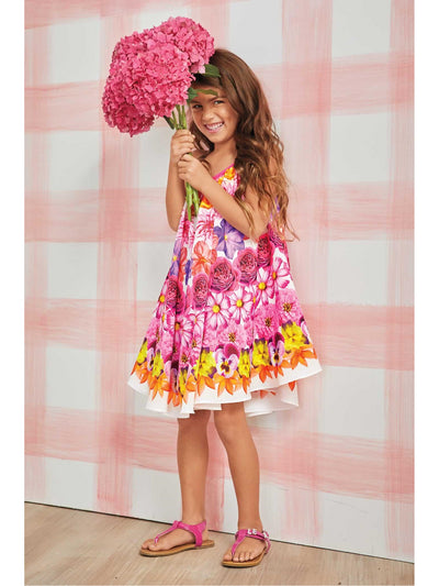 Girls Bright Blooms Dress