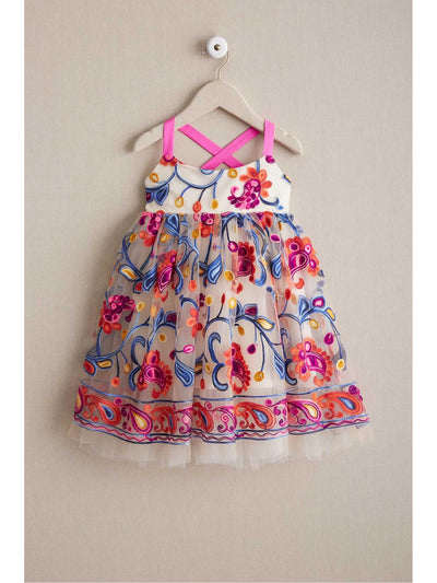 Girls Bright Happy Dress