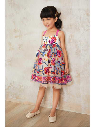 Girls Bright Happy Dress  hpi alt1
