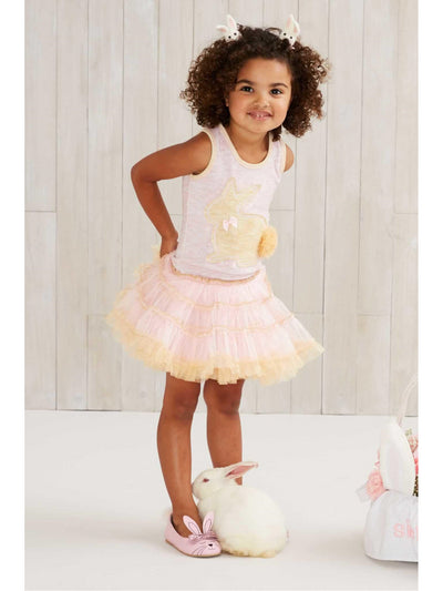 Girls Bunny Tutu Dress  pin alt1