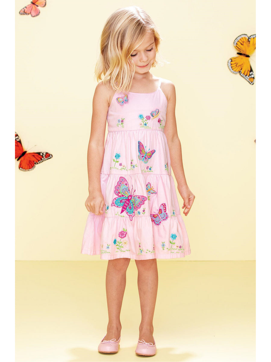 Girls Butterfly Garden Dress