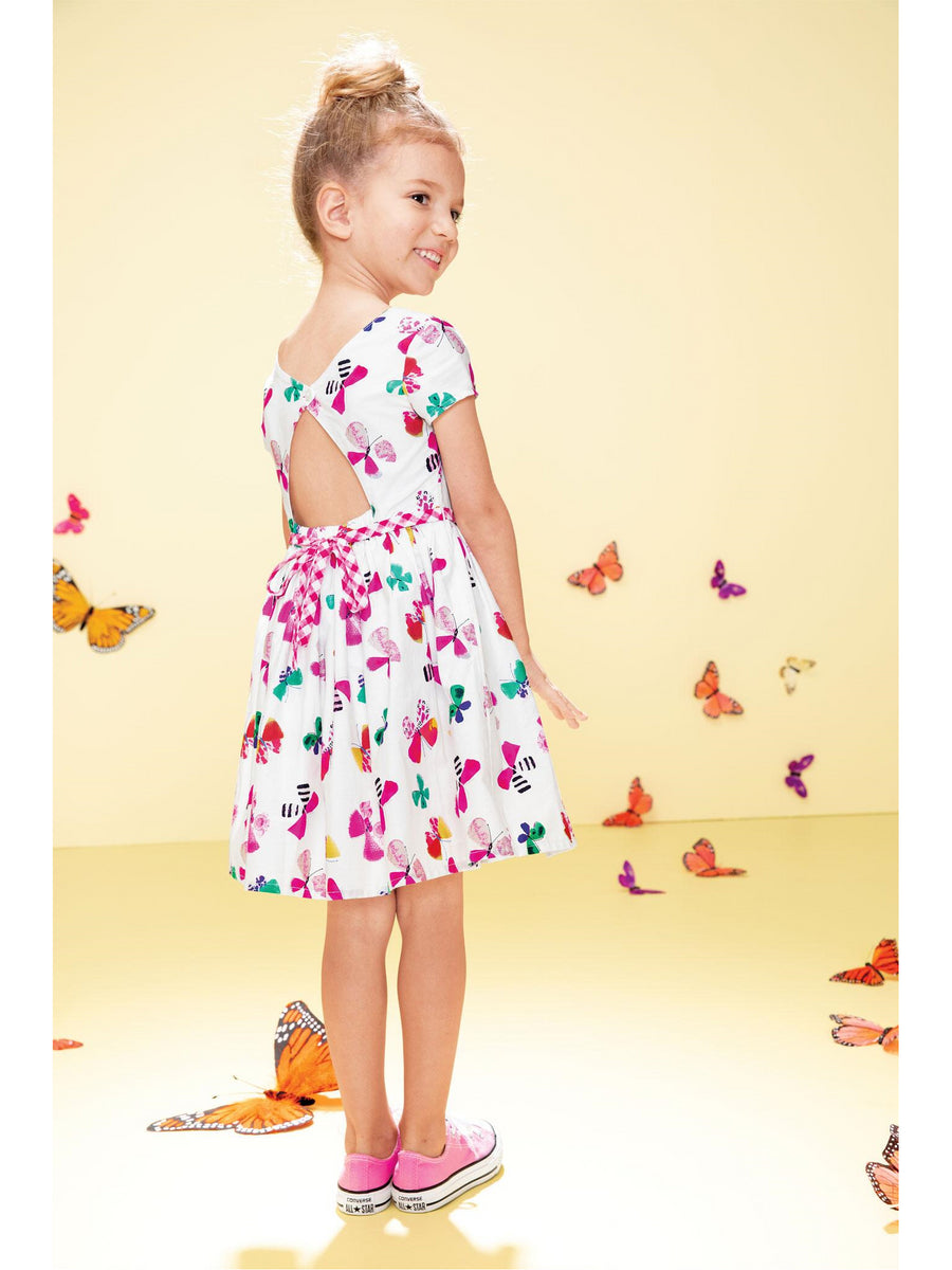 Girls Butterfly Kaleidoscope Dress