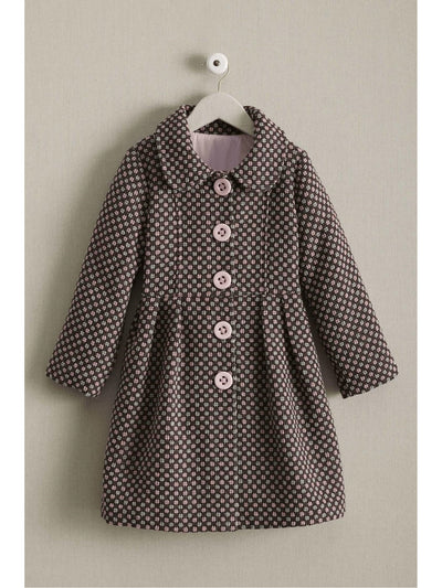 Girls Candy Checks Coat