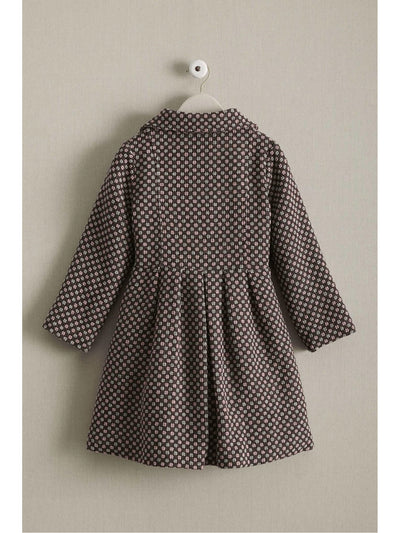 Girls Candy Checks Coat  pin alt1