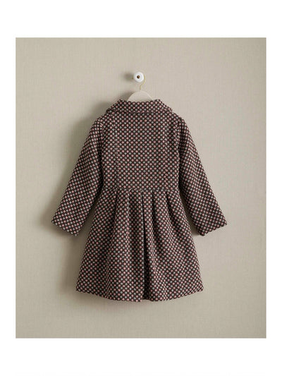 Girls Candy Checks Coat  pin alt2