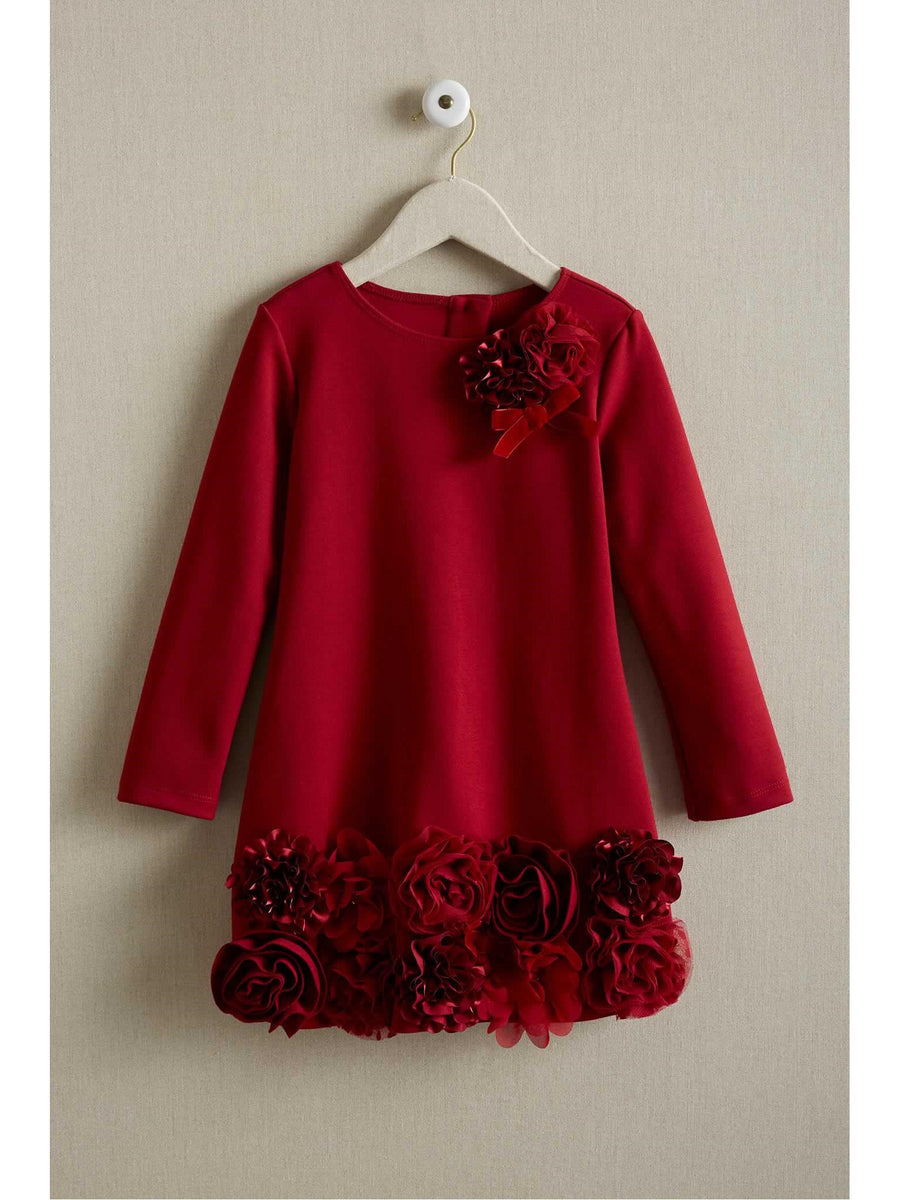 Girls Chiffon Flower Dress