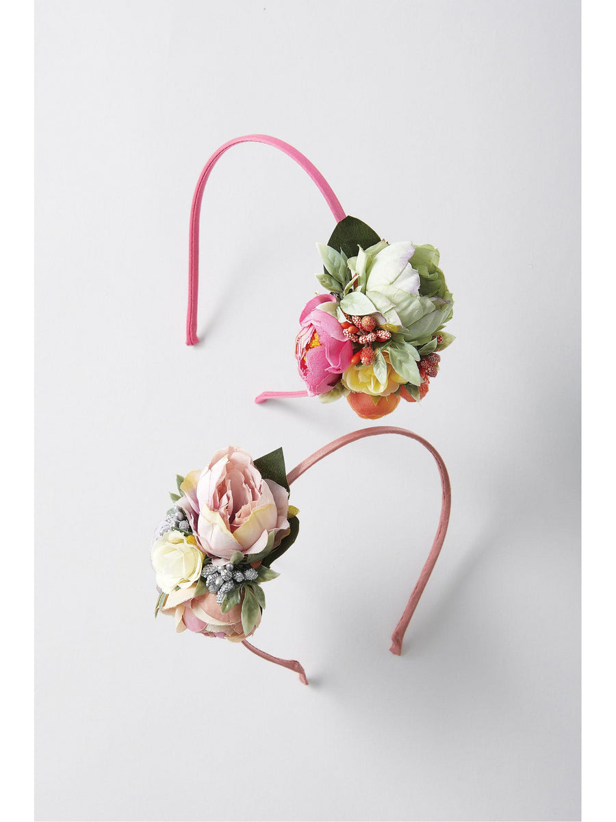 Girls Corsage Headband