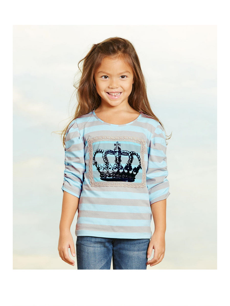 Girls Crown Tee