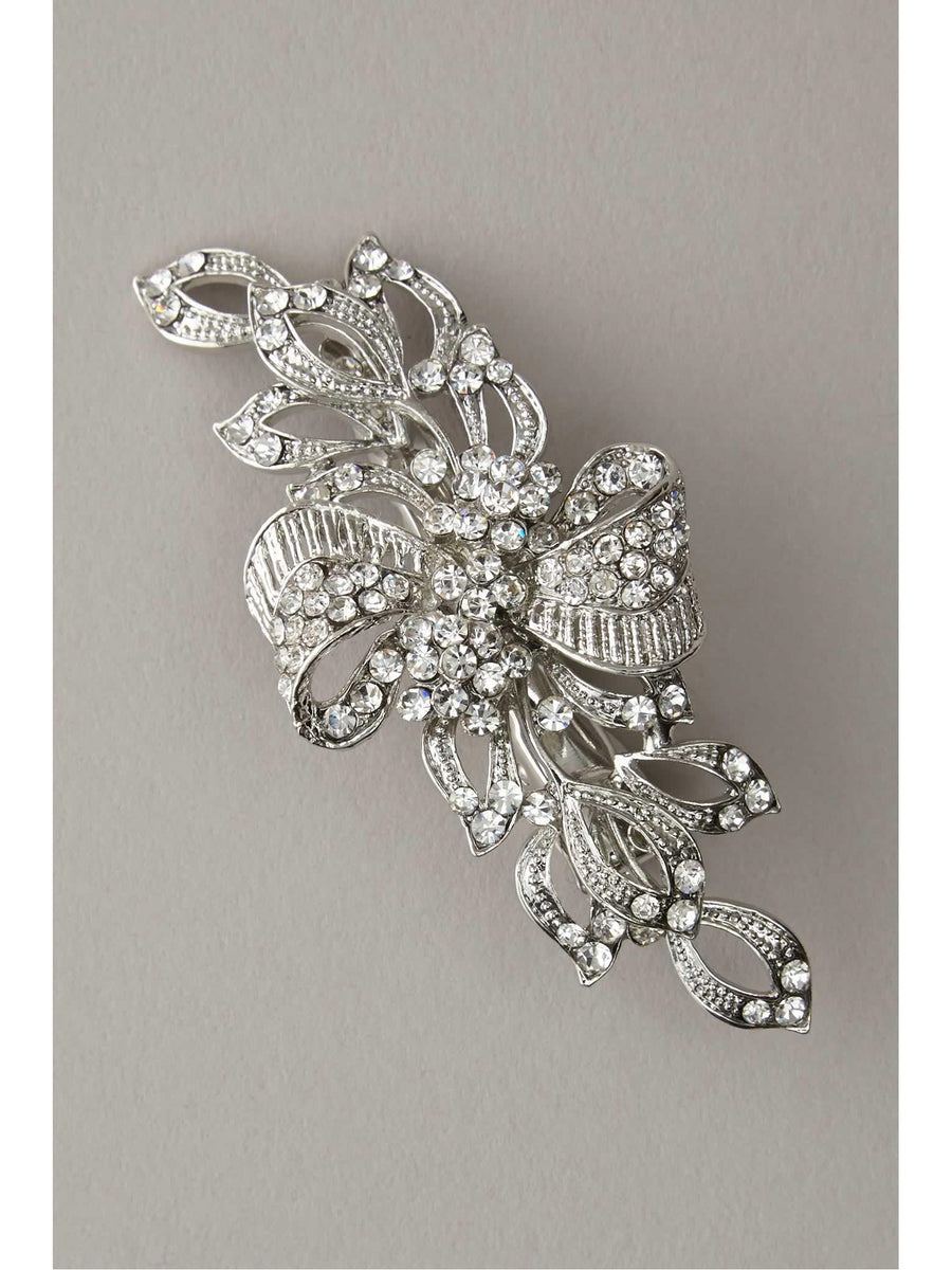 Girls Crystal Bow Hairclip