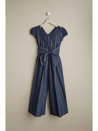Girls Denim Jumpsuit  den alt1