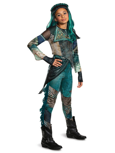 Girls Disney Descendants 3 Uma Deluxe Costume