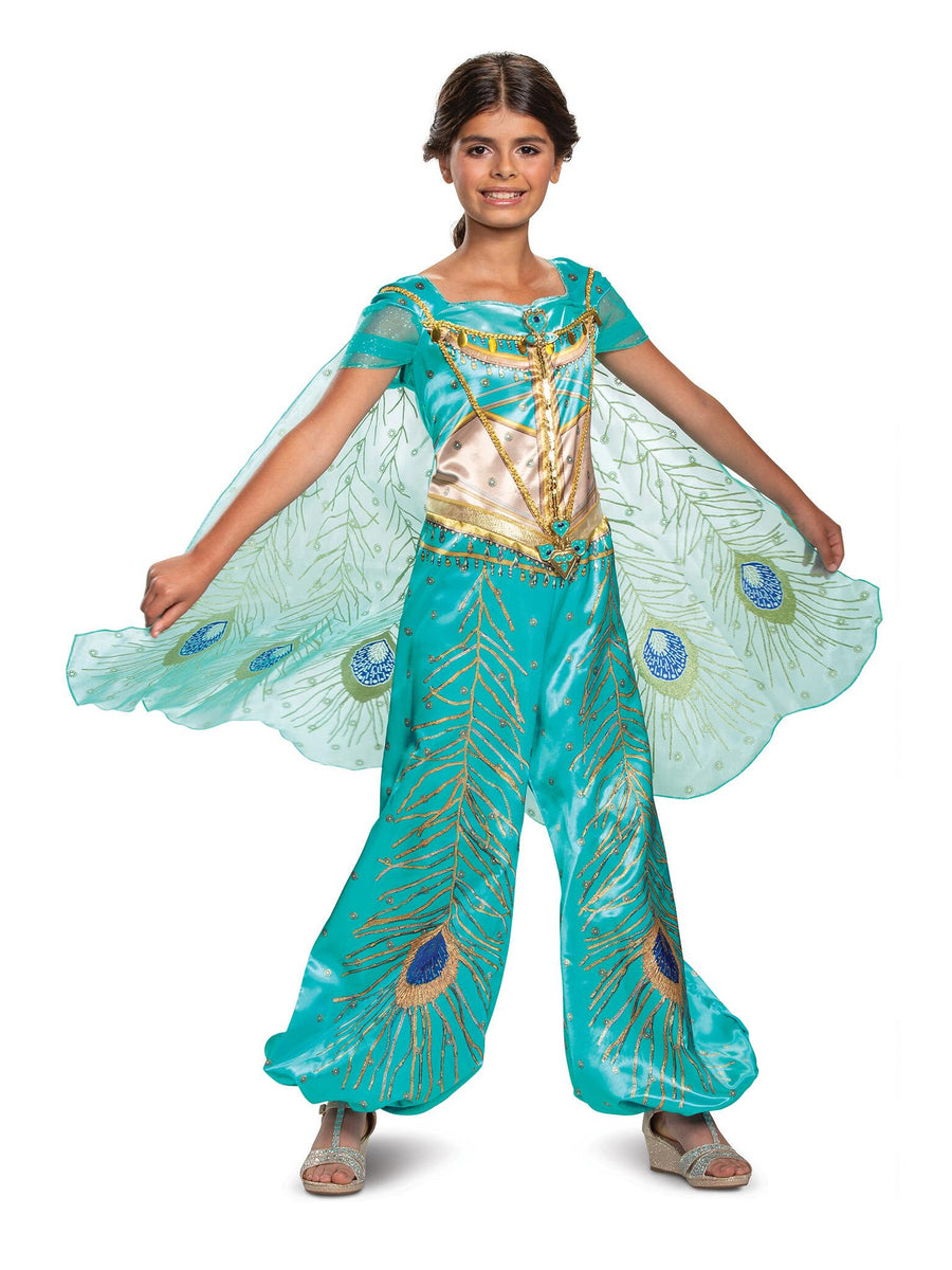 Girls Disney Princess Jasmine Deluxe Costume