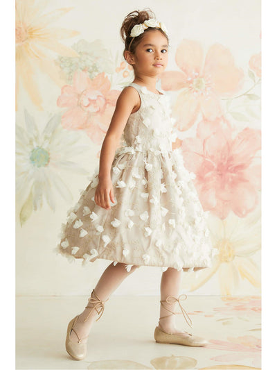 Girls Dogwood Blossom Dress  nat alt1