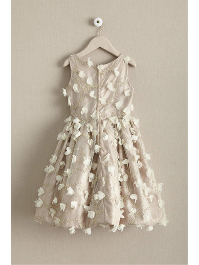 Girls Dogwood Blossom Dress  nat alt2