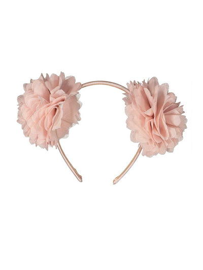 Girls Double Chiffon Flower Headband