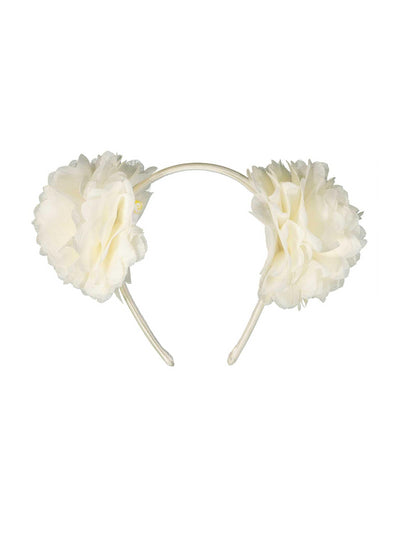 Girls Double Chiffon Flower Headband  iv 1