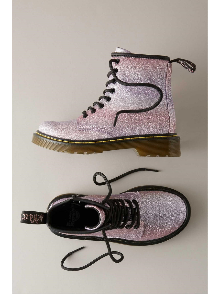 Girls Dr. Martens Glitter Delaney Boots