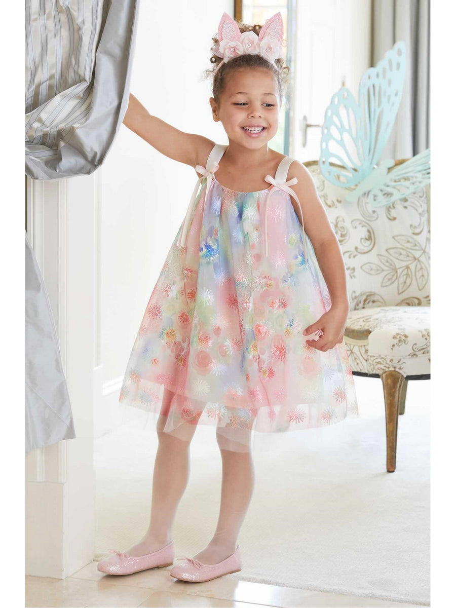 Girls Dreamy Watercolor Dress