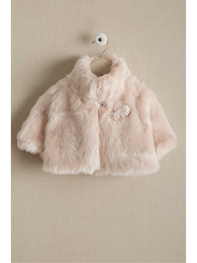 Girls Dressy Faux Fur Shrug
