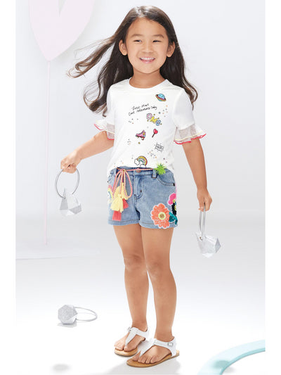 Girls Embellished Cool Adventures Top