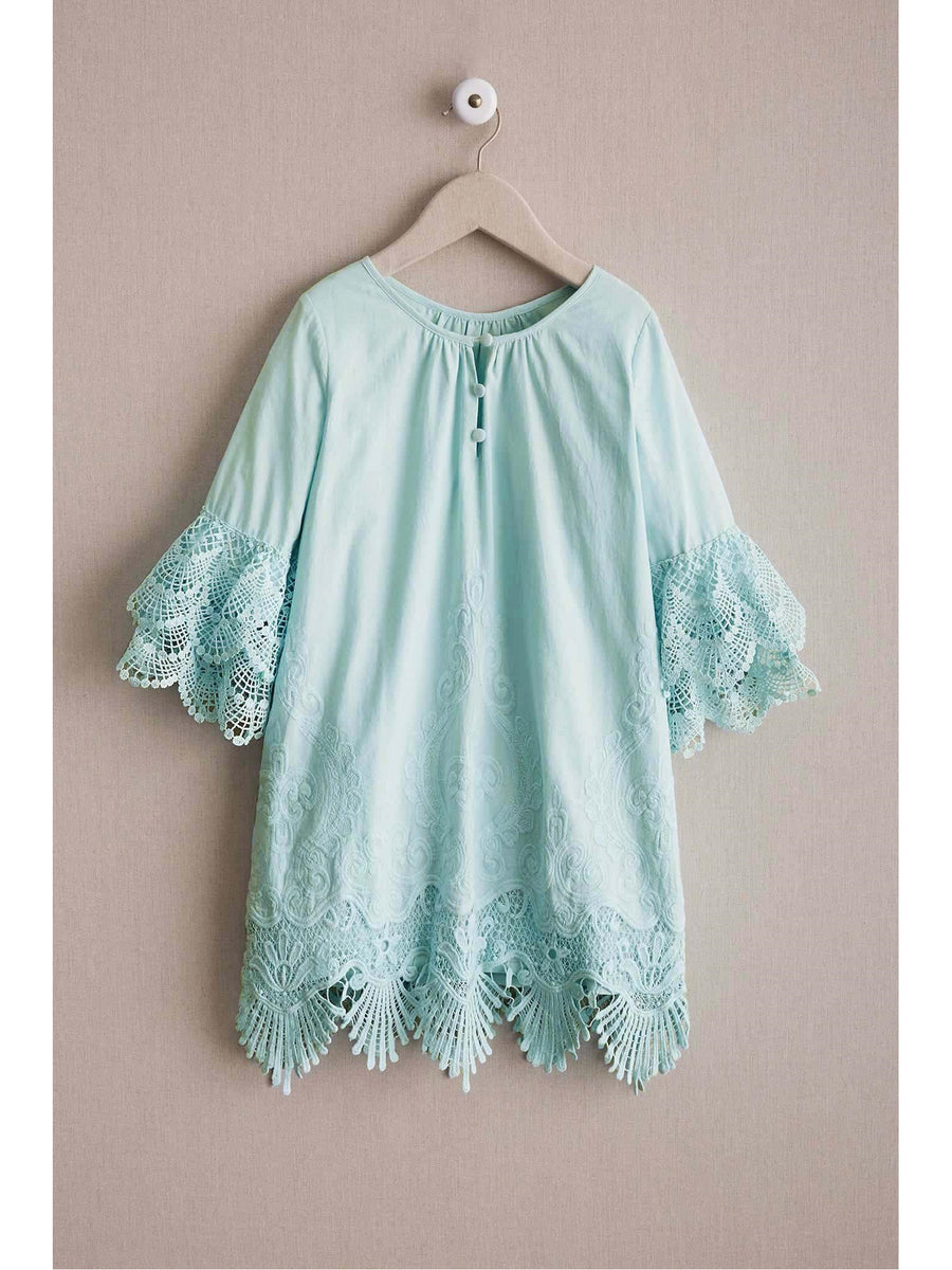 Girls Embrace Lace Dress