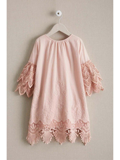 Girls Embrace Lace Dress  lbl alt2