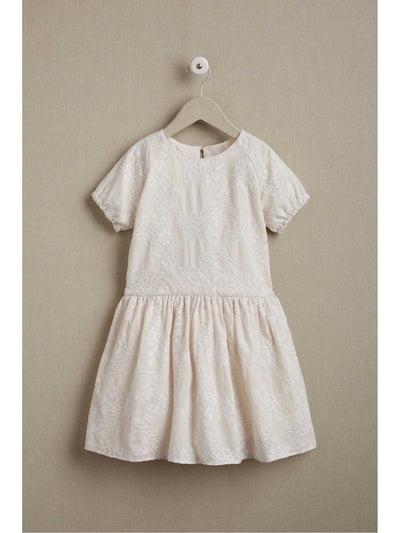 Girls Embroidered Blush Dress  pin alt1