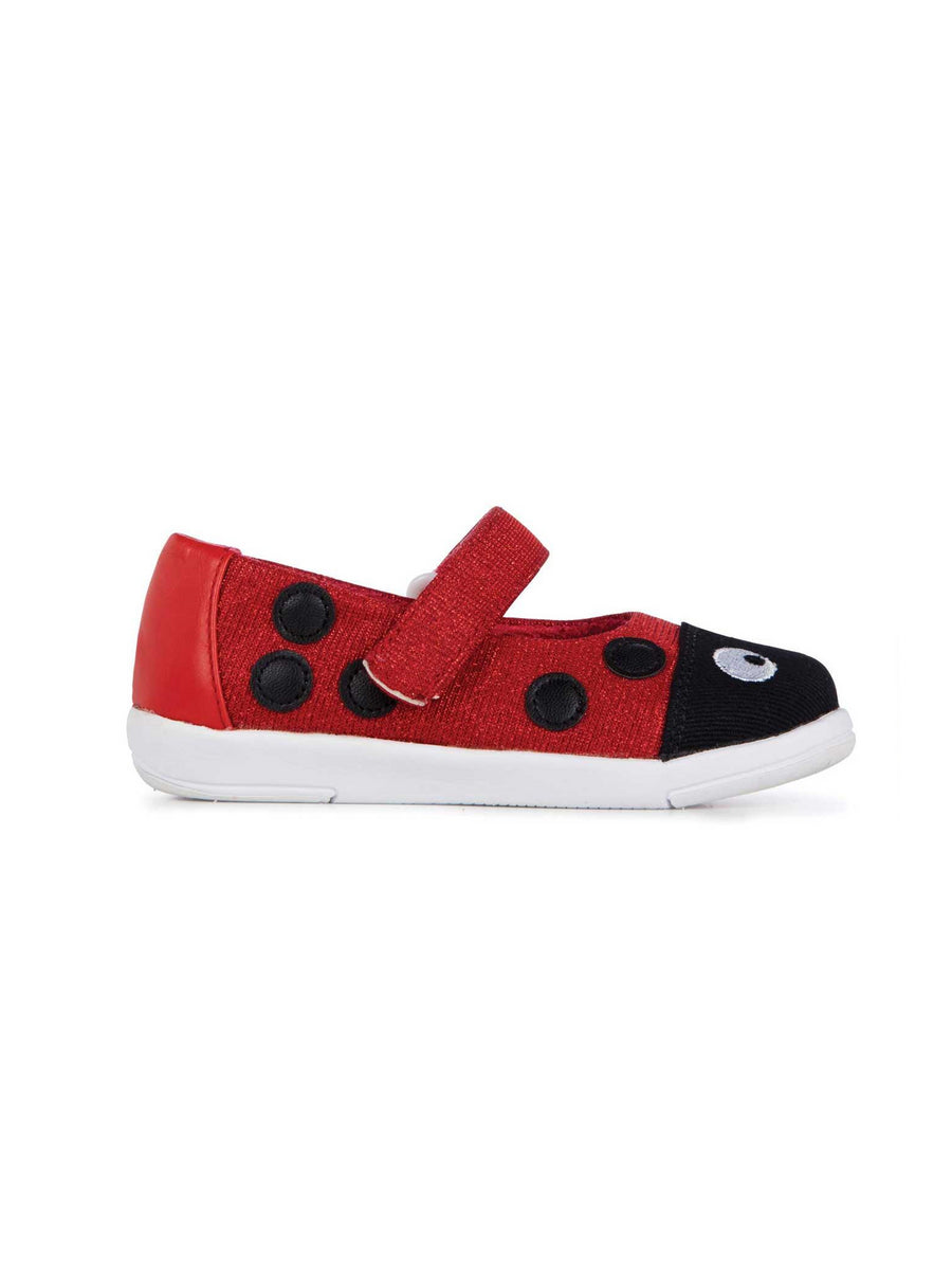 Girls EMU Australia® Ladybug Mary Jane Shoes