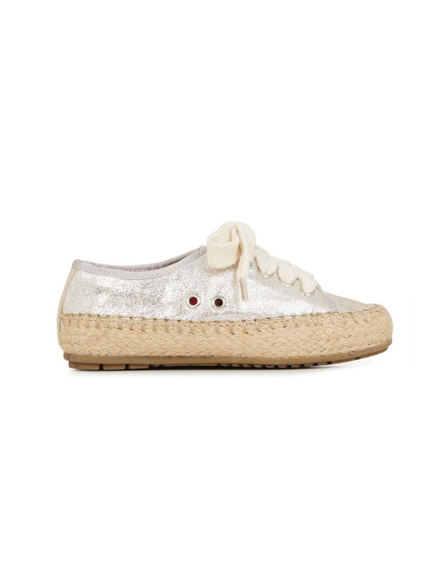 Girls EMU Australia® Metallic Espadrille Sneakers