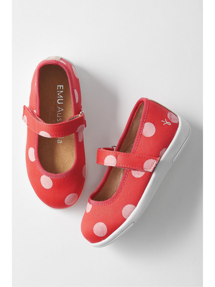Girls EMU Australia® Polka Dot Mary Jane Shoes