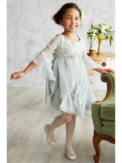 Girls Ethereal Fairy Dress  blu alt1