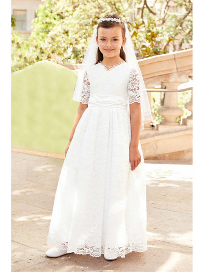 Girls Fancy Lace Dress