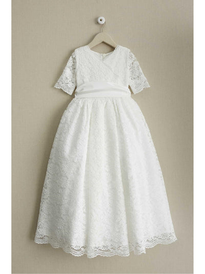 Girls Fancy Lace Dress  whi alt1