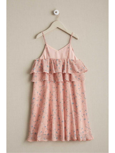Girls Floaty Floral Sundress  lpi alt1