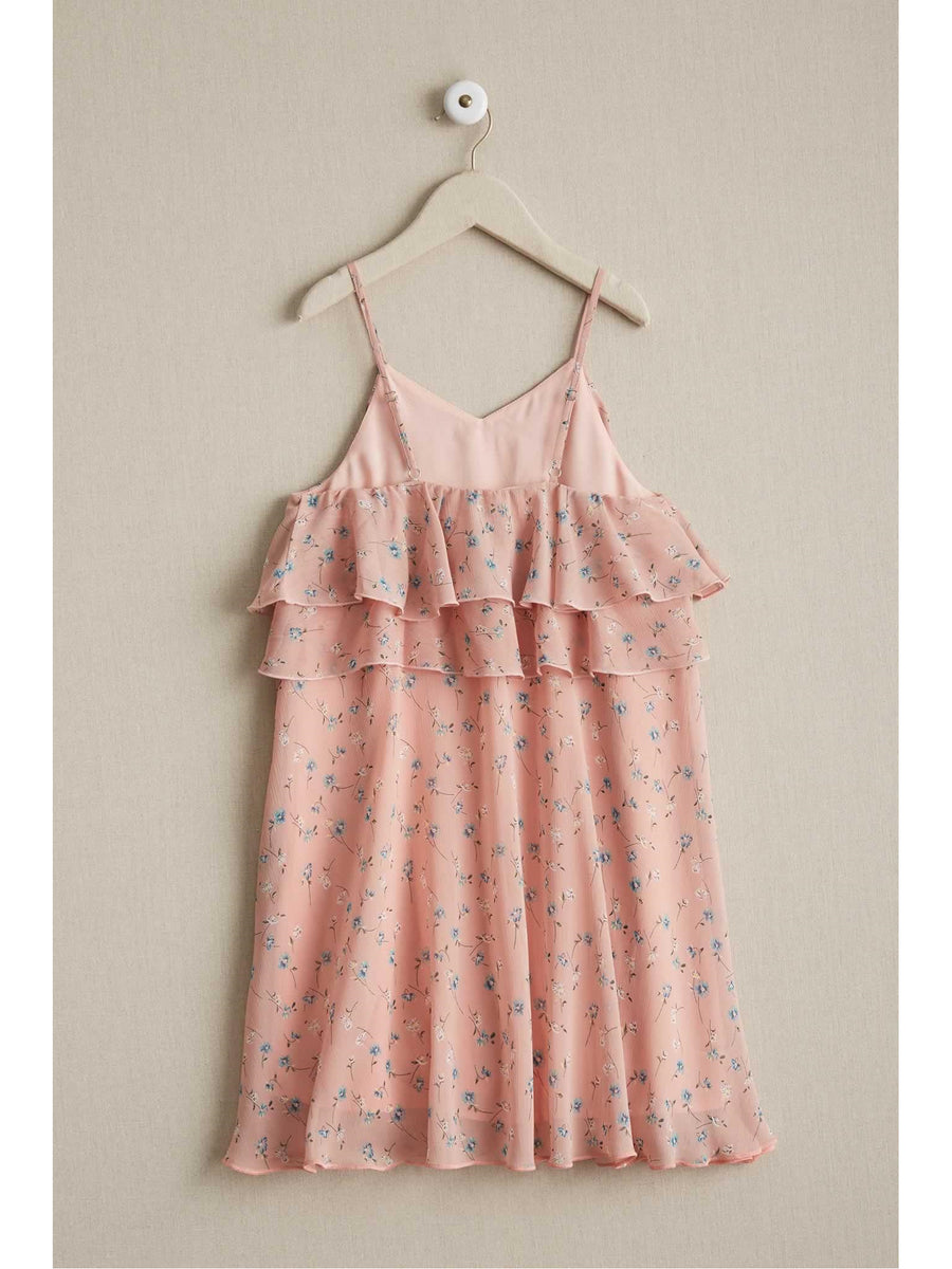 Girls Floaty Floral Sundress