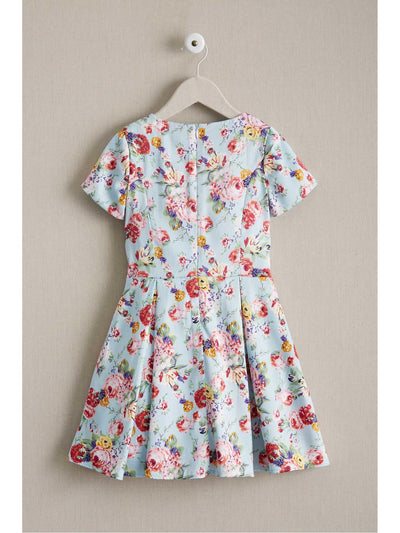 Girls Floral Pocket Dress  lbl alt2