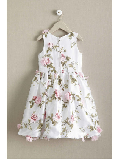 Girls Flower Trellis Dress  ivo alt2