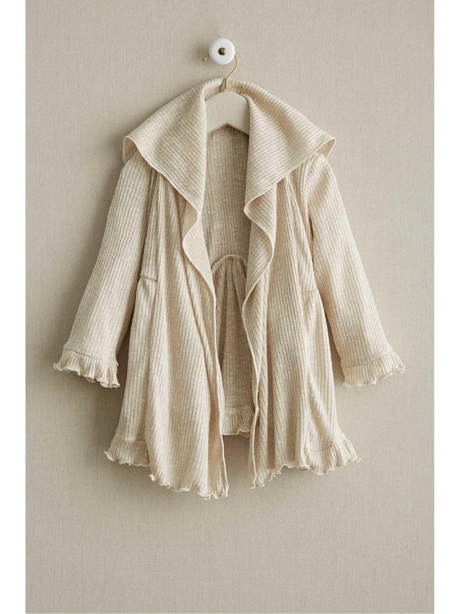 Girls Fluttery Knit Cardigan