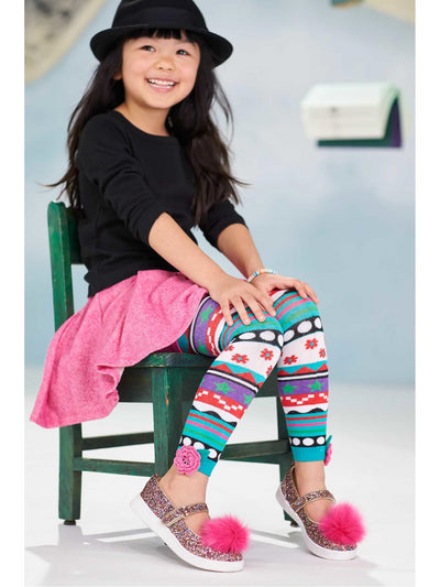 Girls Footless Sweater Tights  hpi alt1