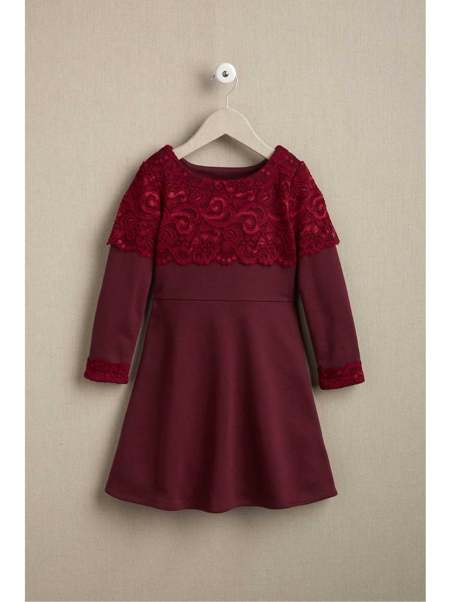 Girls French Terry Knit Dress