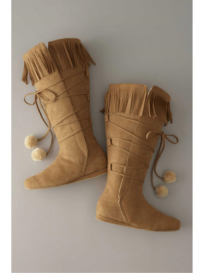 Girls Fringe Boots