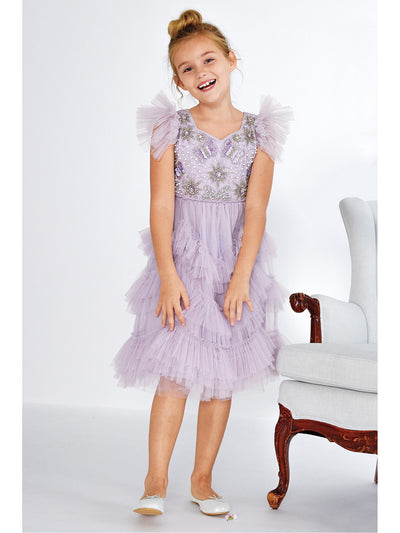 Girls Frothy Flutterby Dress