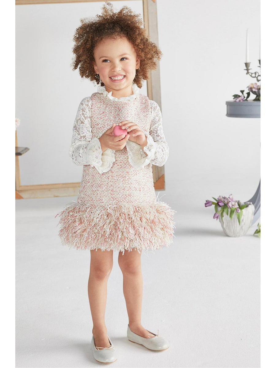 Girls Fun Fringe Dress